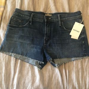 Mother Denim Shorts NEW WITH TAGS
